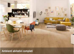 Egger 8/32 classic Aqua+ Parquet Laminato impermeabile per uso domestico, cucine, saloni, bagni