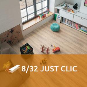 Egger 8/32 Classic Just Clic - Parquet Laminato AC4