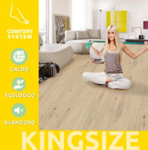Egger Comfort Kingsize Pavimento in Sughero