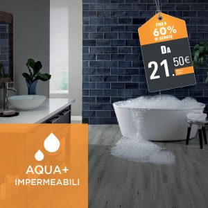 Pavimento Laminato Impermeabile Aqua+