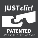 Laminato Egger 8/32 Pavimento JUSTClic Patented