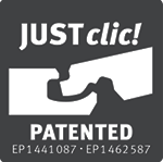 Parquet laminato Rovere Western Chiaro Egger montaggio justclick patented