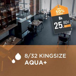 Parquet Laminato Egger 8/32 Kingsize Aqua+