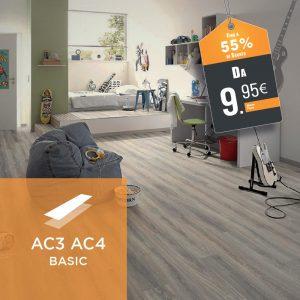 Pavimenti Laminati AC3 | AC4 Basic