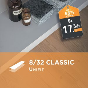 Egger 8/32 Classic Unifit - Parquet Laminato AC4