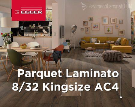 Parquet Laminato 8/32 Kingsize AC4
