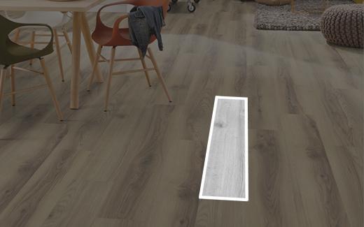 Parquet Laminato Rovere Nord Chiaro Egger 8/32 Acqua+ plancia formato classic