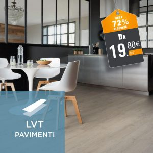 Pavimenti in LVT