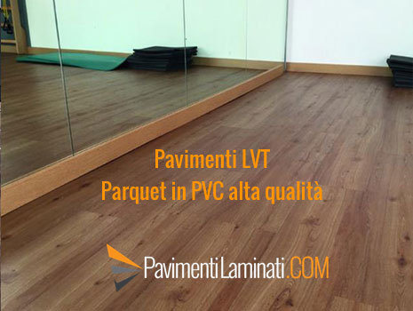 Parquet in pvc parquet in pvc cover floor contract with for Pavimenti pvc ikea
