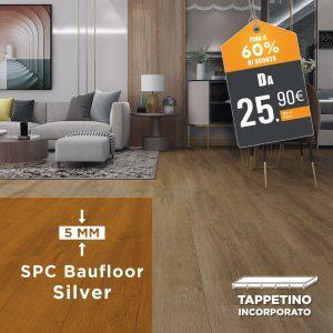 Pavimenti SPC - Baufloor Silver
