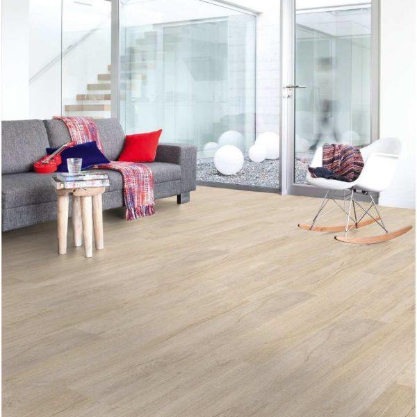 pavimento effetto legno in pvc creation 30 clic oak beige 0848