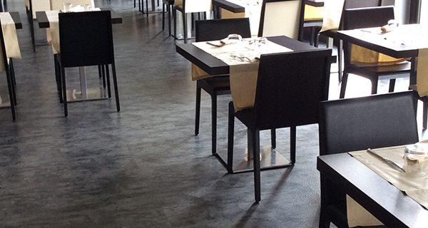 Pavimento PVC effetto pietra Mabos Zinc