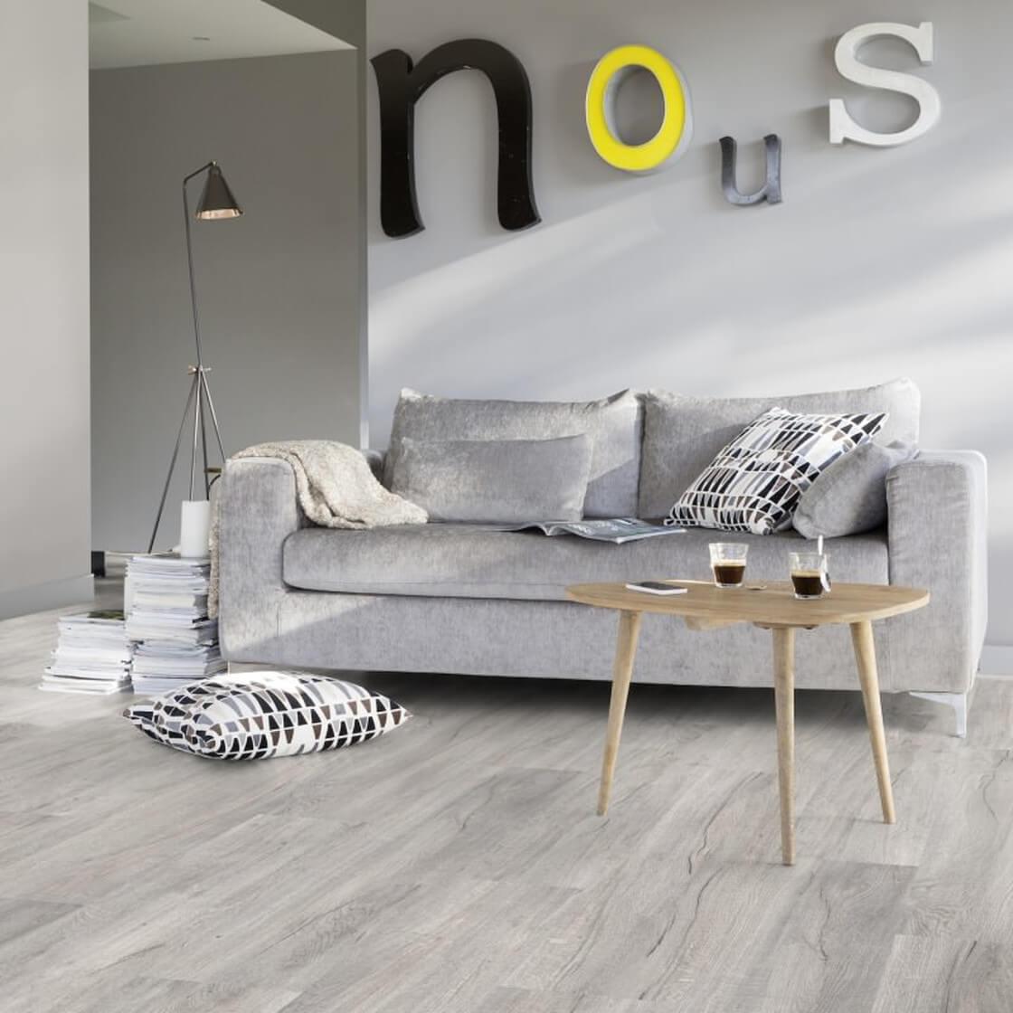 Colla Per Pavimenti Pvc kilda pearl - gerflor rigid 55 lock acoustic | pavimento pvc grigio