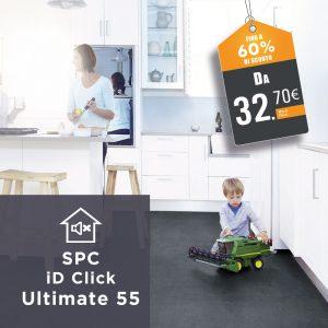 SPC SoundBlock - Tarkett iD Click Ultimate 55