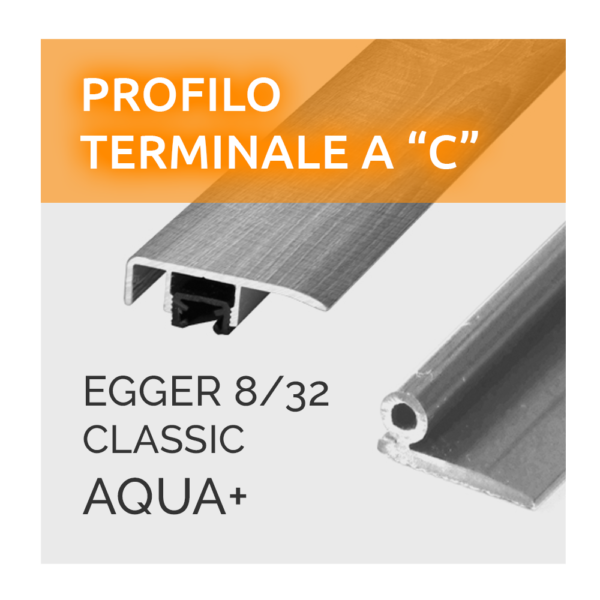 Profili A C Egger 8/32 Aqua +