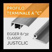 Profili a C Egger 8/32 Classic Justclic