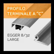 Profili a C Egger 8/32 Large
