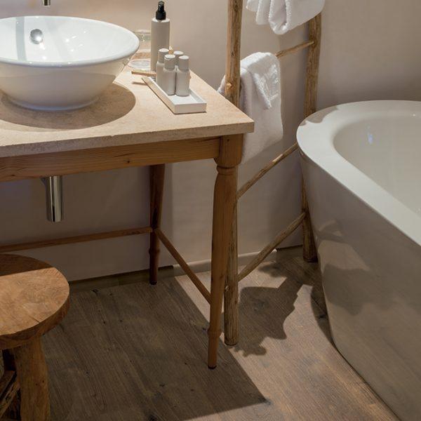 Parquet Laminato per il bagno Rovere Dunnington Scuro | Egger Aqua+