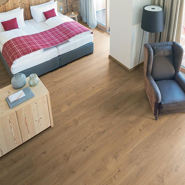 rovere waltham naturale pavimenti sughero silenzioso camera
