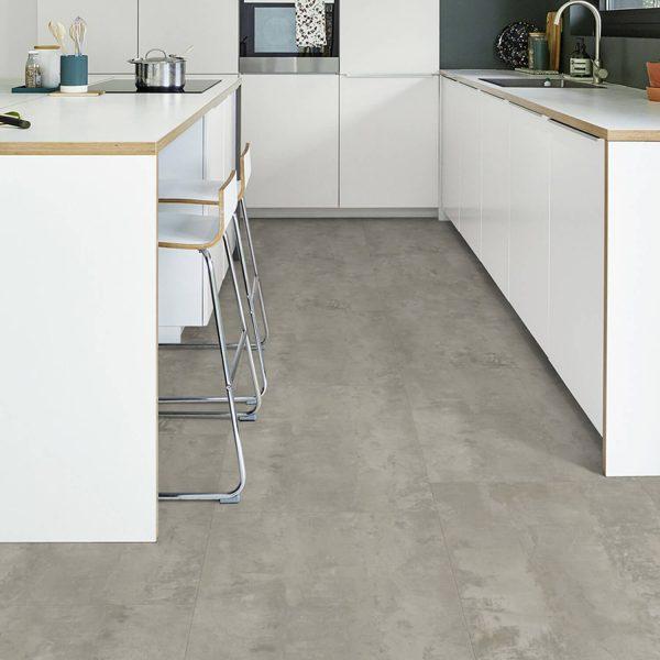 Tarkett Click 55 Plus Rough Concrete Grey