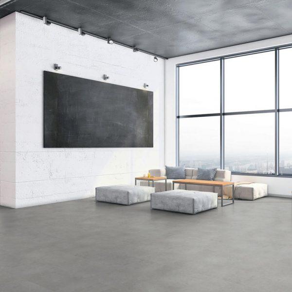 Tarkett pavimento SPC Polished Concrete Indium iD Click Ultimate 55