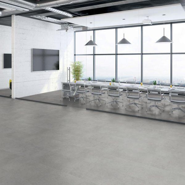 Tarkett SPC Polished Concrete Indium iD Click Ultimate 55